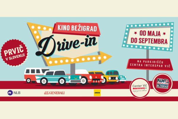 V Sloveniji smo dobili prvi DRIVE IN kino!