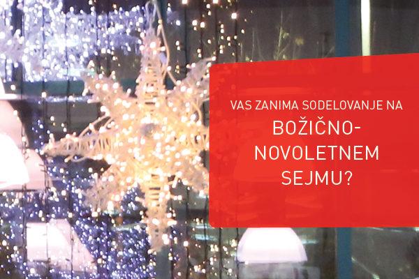 Prijava za sodelovanje na božično novoletnem sejmu