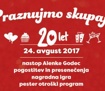 24. avgusta praznujemo skupaj!
