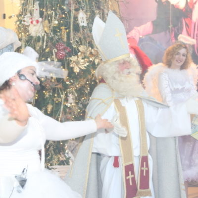 Miklavž in Tinka snežinka