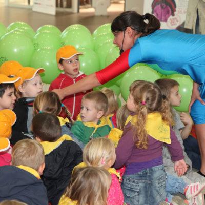 Otvoritev razstave otrok iz viških vrtcev